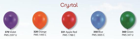 balloons crystal